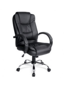 New Executive Premium PU Faux Leather Office Computer Chair Black SCOC-1060